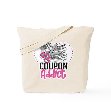 Coupon Addict Tote Bag