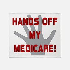 Hands off my Medicare Throw Blanket