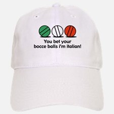 You Bet Your Bocce Balls Baseball Baseball Cap