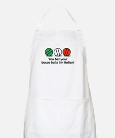 You Bet Your Bocce Balls BBQ Apron