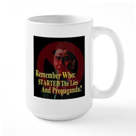 Reagan Started Propaganda Large Mug