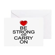 Inspirational Carry On Greeting Cards (Pk of 10)