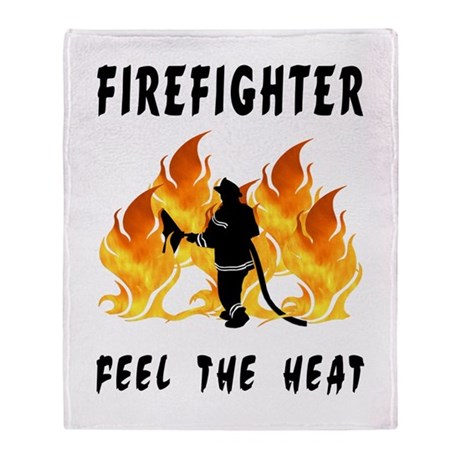 Firefighter Heat Throw Blanket