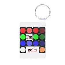 I'm gel'n (I'm gelling) Keychains