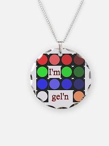I'm gel'n (I'm gelling) Necklace