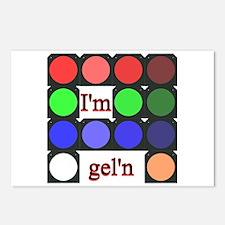 I'm gel'n (I'm gelling) Postcards (Package of 8)
