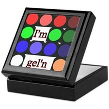 I'm gel'n (I'm gelling) Keepsake Box
