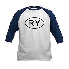 RY - Initial Oval Tee