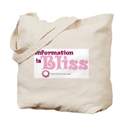 Information is Bliss Tote Bag