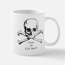 Fish or Cut Bait Logo Mug