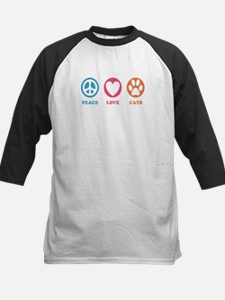 Peace Love Cats [r] Tee