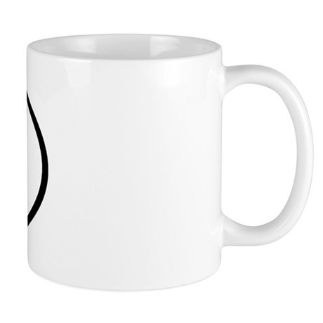 RX - Initial Oval Mug