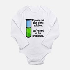 Part of the Solution... Long Sleeve Infant Bodysui
