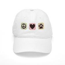 Peace Love Dogs [i] Baseball Cap