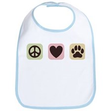 Peace Love Dogs [i] Bib
