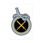 Mir's Badge - Marshal Sticker (Rectangle 50 pk)
