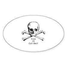 Fish or Cut Bait Logo Decal