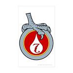 Mir's Badge - Chirurgeon Sticker (Rectangle 50 pk)
