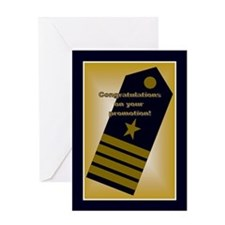 U.s. Naval Officer Captain Greeting Cards