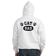 Cat Dad [b/w] Hoodie