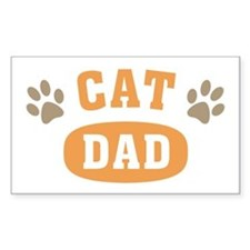 Cat Dad Decal