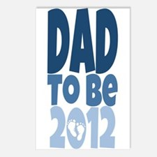 Dad to Be 2012 Postcards (Package of 8)