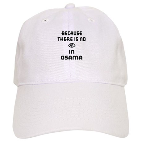 "No ""I"" In Osama Cap"