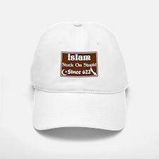 """Islam: Stuck On Stupid Since 622"" Baseball Baseball Cap"