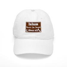 """Islam: Stuck On Stupid Since 622"" Baseball Cap"