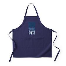 Dad to Be 2012 Apron (dark)