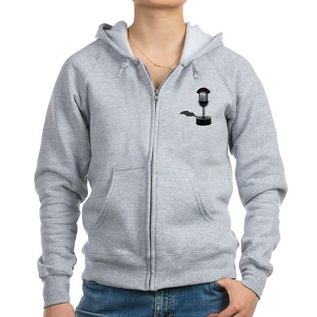 On the Air Pill Microphone Women's Zip Hoodie