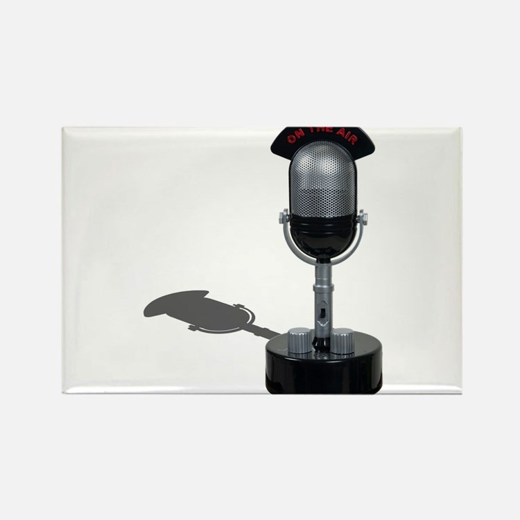 On the Air Pill Microphone Rectangle Magnet (10 pa