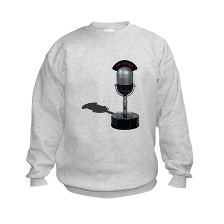 On the Air Pill Microphone Kids Sweatshirt