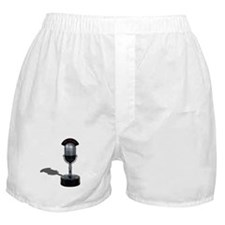 On the Air Pill Microphone Boxer Shorts