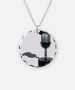 On the Air Pill Microphone Necklace