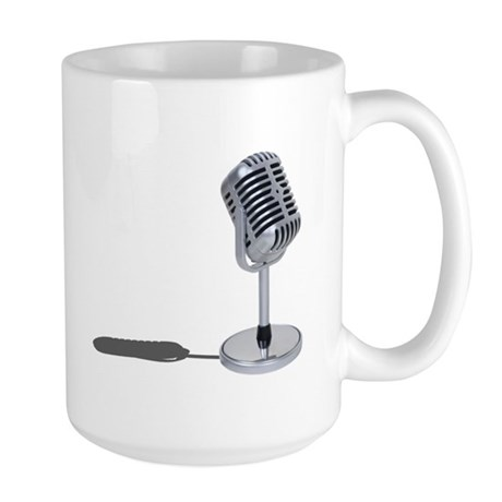 Pill Microphone Large Mug