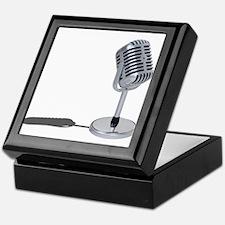 Pill Microphone Keepsake Box