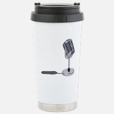 Pill Microphone Stainless Steel Travel Mug