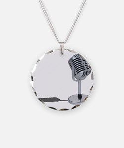Pill Microphone Necklace