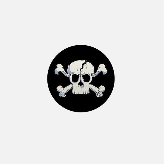 Skullusion Mini Button