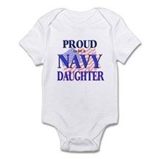 Navy - Daughter Infant Creeper