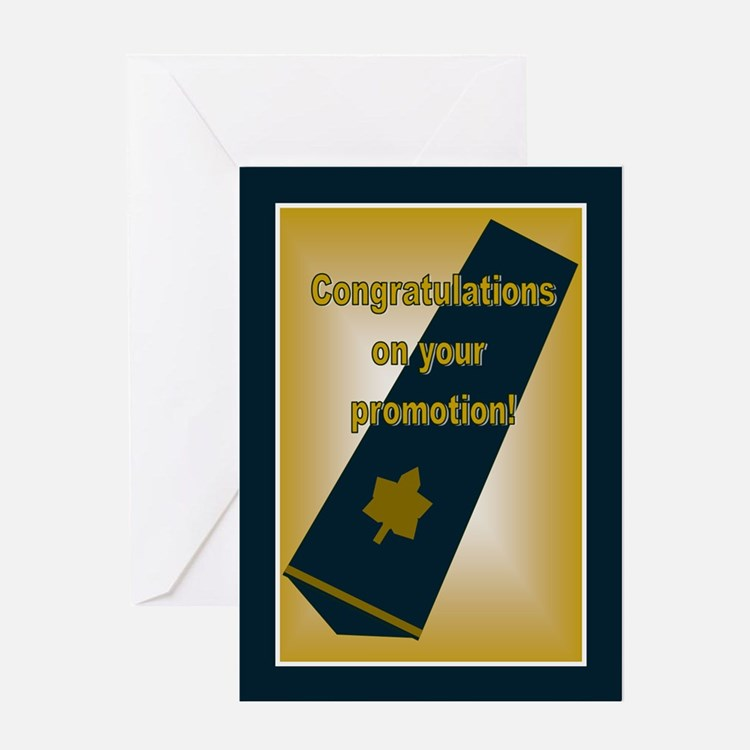 Air Force Captain Promotion C Greeting Card