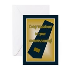 Air Force Second Lieutenant C Greeting Cards (Pk o