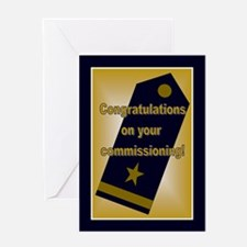U.S. Navy Ensign Congratulati Greeting Card