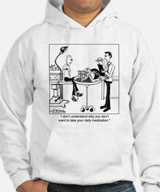 Daily Medication Is Size Of A Bowling Ball Hoodie