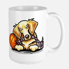 Golden Retriever Player Mug