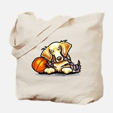 Golden Retriever Player Tote Bag