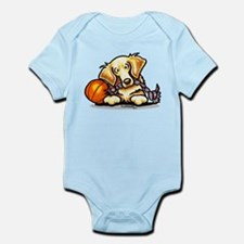 Golden Retriever Player Infant Bodysuit
