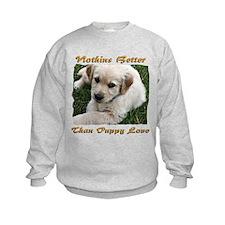 Golden Retriever Puppy Love Sweatshirt