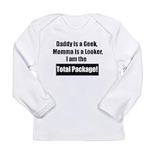 Cute Baby geek Long Sleeve Infant T-Shirt